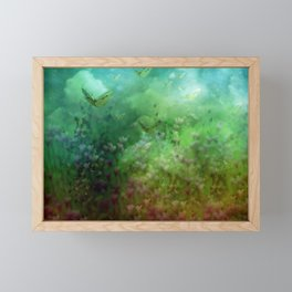 """The Enchanted Forest"" (Fairyland) Framed Mini Art Print"