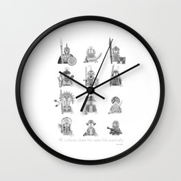 All Warriors Wall Clock
