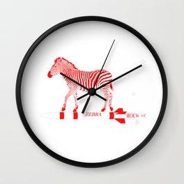 Zebra Rock It 11B Wall Clock
