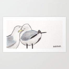 Bird no. 295: Love Letter Kunstdrucke