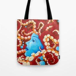 Tentacle Girl Tote Bag