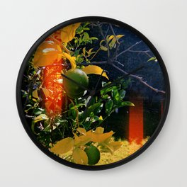 Lime Ready Wall Clock