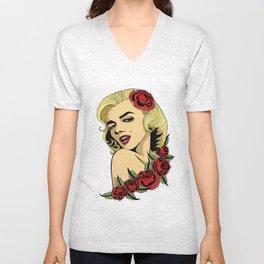 Marilyn Unisex V-Neck