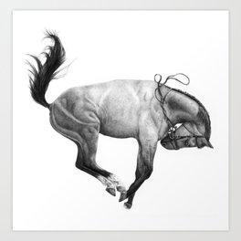 The Wild Horse Art Print