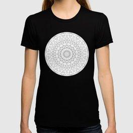 Cat Mandala Doodle T-shirt