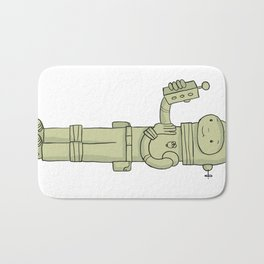 Zulu The Last Interdimensional Time and Space Explorer Bath Mat
