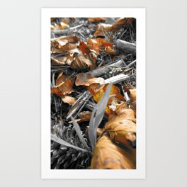Treasured Leaf 2011 Art Print