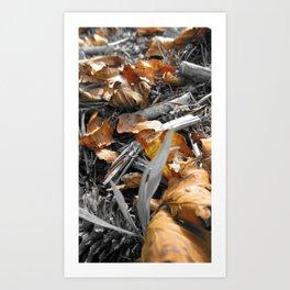 Treasured Leaf 2011 Art Print