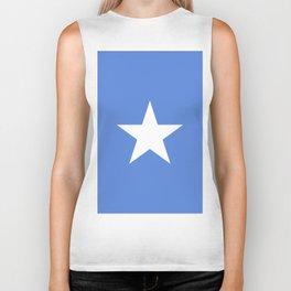Somalia flag emblem Biker Tank