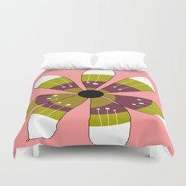 FLOWERY BRITTA  / ORIGINAL DANISH DESIGN bykazandholly Duvet Cover