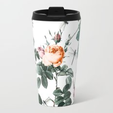 Floral and Winged Darter Travel Mug