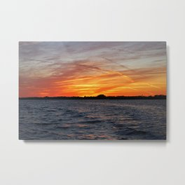 Changes on the Caloosahatchee II Metal Print