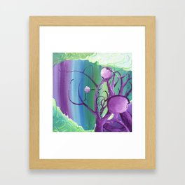 Growing In All Direcrions Framed Art Print