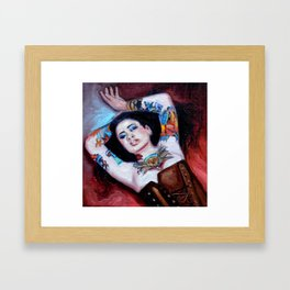Modern Day Venus Framed Art Print