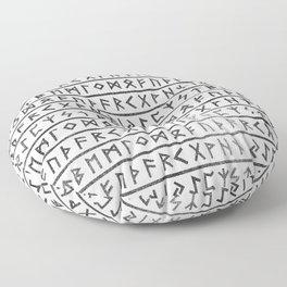 Runic Alphabet Floor Pillow