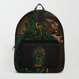 Mayan Serpent God Backpack