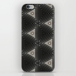 Triangles of Light iPhone Skin