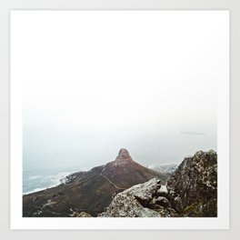 From Table Mountain II Art Print