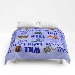 Will's Dragons Comforters