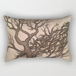 Bird Tree Rectangular Pillow