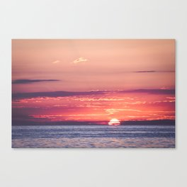 Burning dreams Canvas Print