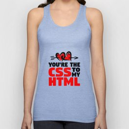 CSS and HTML Unisex Tank Top