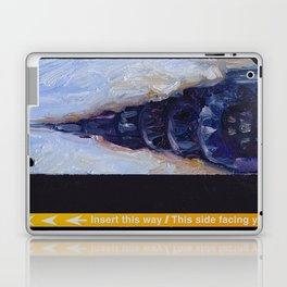 Subway Card Chrysler Building No. 9 Laptop & iPad Skin