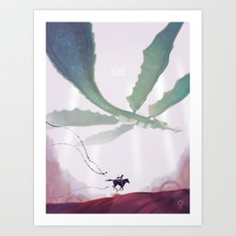 Shadow of the Colossus: Phalanx Art Print