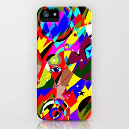 Abstract Great Galactic Globes iPhone Case