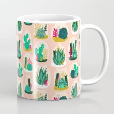 Terrariums - Cute little planters for succulents in repeat pattern by Andrea Lauren Mug