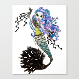 Sirena Von Boo - Monster High Canvas Print