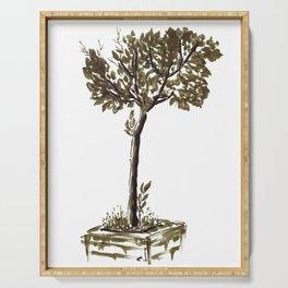 Tree 2 Serving Tray
