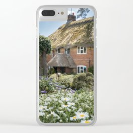 Thatched Cottage Clear iPhone Case