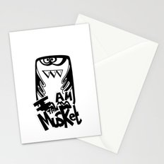 I am the Musket Stationery Cards