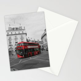 Get me a red double decker Stationery Cards
