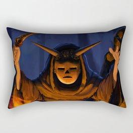 Night Ritual Rectangular Pillow