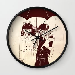 A Series of Unfortunate Events Wall Clock