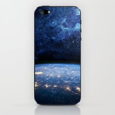 Earth and Galaxy iPhone & iPod Skin