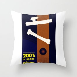 Science Fiction movie poster Throw Pillow