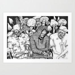 Party Mummies Art Print