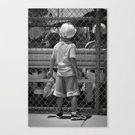 Little Brother 2 Canvas Print