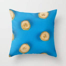 Soggy Banana Throw Pillow