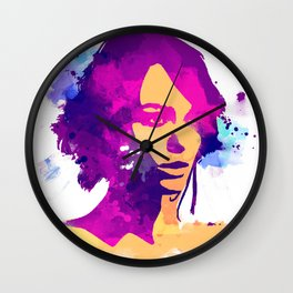 keira Knightley Wall Clock
