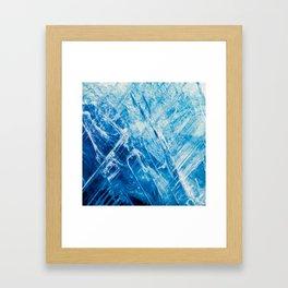 Blue Kyanite Framed Art Print