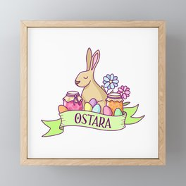 Ostara Framed Mini Art Print