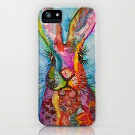 Trudy the Hare iPhone Case