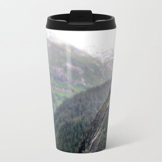 Alaskan Landscape Metal Travel Mug