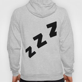 Zzzs in Black Hoody