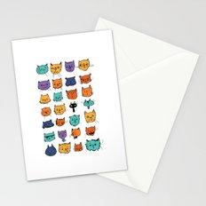 Stylish Cats Stationery Cards