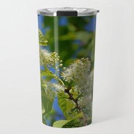 Mayday Tree in Bloom Travel Mug
